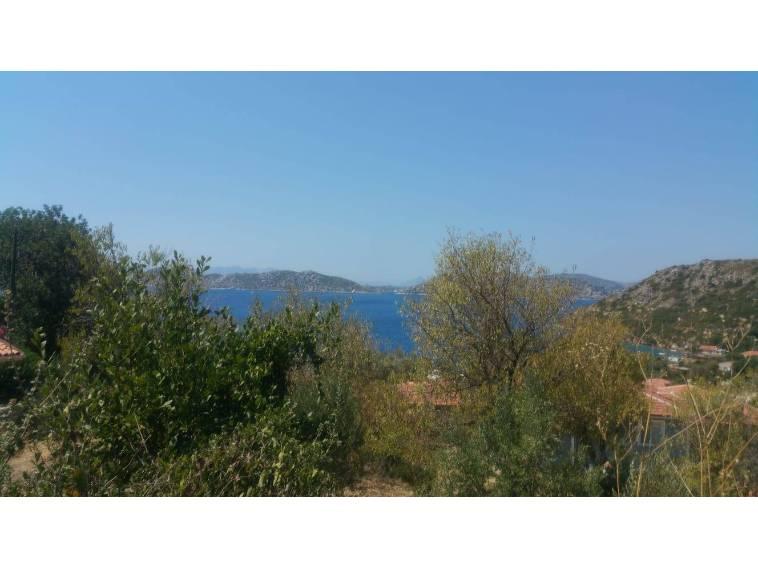 Marmaris Emlak'tan Söğüt Köyünde Satılık Deniz Manzaralı Arsa
